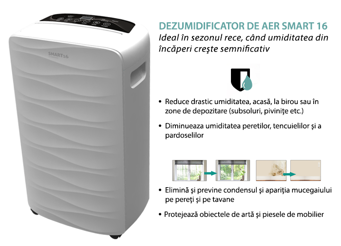 Dezumidificator smart